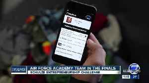 Air Force Academy Team in the finals for Schulze Entrepreneurship Challenge [Video]