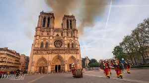 Disney Pledges $5M to Rebuild Notre Dame Cathedral | THR News [Video]