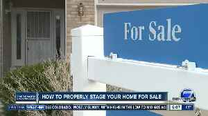 How to properly stage your home for sale [Video]