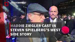 Maddie Ziegler cast in Steven Spielberg's West Side Story [Video]