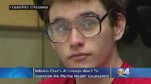 Nikolas Cruz's Attorneys Want To Question His Mental Health Counselors Alone [Video]