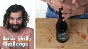 50 People Try to Open a Bottle of Wine [Video]