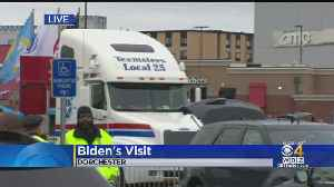 Joe Biden To Visit Stop & Shop Striking Workers At Dorchester Rally [Video]