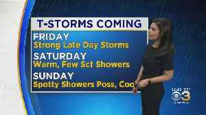 Midday Weather Update: Heavy Rain Friday Night [Video]