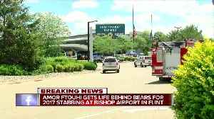 Amor Ftouhi gets life behind bears for 2017 stabbing at Bishop Airport in Flint [Video]
