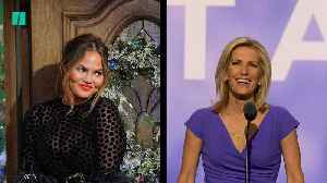 News video: Chrissy Teigen Fires Back At Laura Ingraham