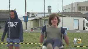 New Zealand Teen Spends 32 Hours Straight On Swing [Video]