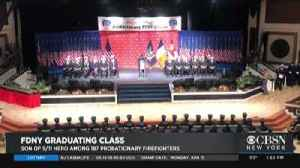 Son Of Fallen Firefighter Graduates [Video]