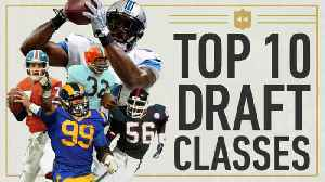 NFL Throwback: Top 10 draft classes of all time [Video]