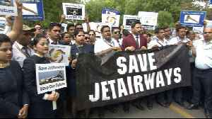 Jet Airways grounded, employees desperate to save jobs [Video]