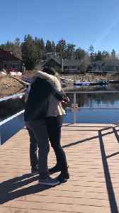Guy Proposes to Girlfriend and Surprises Her with Family [Video]