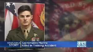 Sacramento Native Killed In Camp Pendleton Accident Leaves Behind Wife, Young Son [Video]