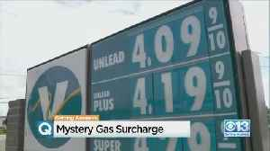 Mystery Surcharge Among Taxes, Fees Added To Gasoline In California [Video]