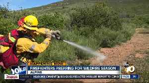Firefighters participate in three-day wildfire preparedness exercise [Video]
