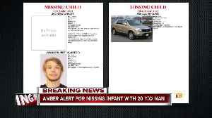Amber Alert issued for 2-month-old with 20-year-old male suspect [Video]