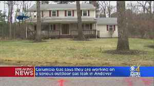 Columbia Gas Responds To 'Serious' Gas Leak At Andover Home [Video]