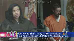 Police: Man Tried To Burn Flag Inside Church [Video]