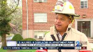 A stove-top fire turns into a 2-alarm blaze displacing six people and killing two cats [Video]