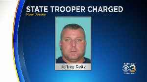 New Jersey State Trooper Found With Child Pornography [Video]