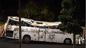 News video: 29 German Tourists Killed In Portugal Bus Accident