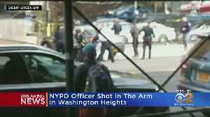 NYPD Officer Shot In Washington Heights [Video]