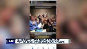 Photo of teachers 'flipping the bird' sparks debate in Taylor [Video]