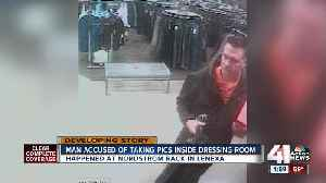 Man accused of taking women's photos in fitting room at Nordstorm Rack S [Video]