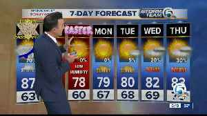Latest Weather Forecast 6 p.m. Thursday [Video]