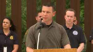 DHS McAleenan spoke at the border regarding U.S. efforts to help families and children [Video]