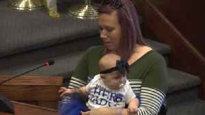 Police Officer honored for saving baby [Video]