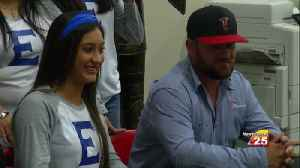 East Softball Star Signs With College [Video]