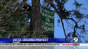 UO students protest logging practices' threat to climate change [Video]