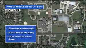 Student arrested following threat made toward Winona school [Video]