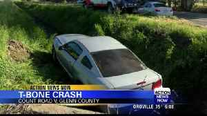 14-year-old receives major injuries during collision involving teenage drivers [Video]