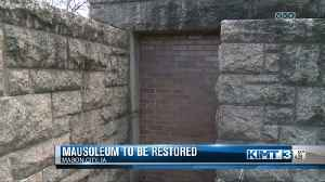 Mausoleum repairs [Video]