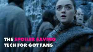 What to download to avoid Game of Thrones spoilers [Video]