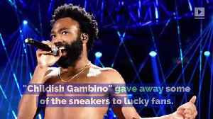 Donald Glover to Collaborate With Adidas on New Shoe Line [Video]