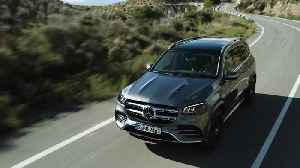 The new Mercedes-Benz GLS AMG Line Driving Video [Video]