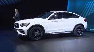 World Premiere Mercedes-Benz GLC Coupe at the 2019 NYIAS [Video]