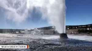 Yellowstone National Park: Beehive Geyser Eruption Caught On Camera [Video]