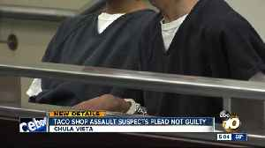 South Bay taco shop assault suspects pleads not guilty [Video]