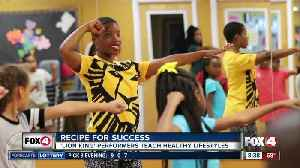 News video: 'The Lion King' Dancer Inspires SWFL Children