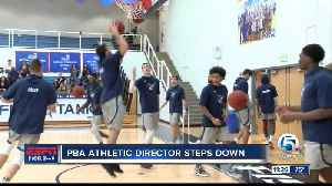 PBA Athletic Director steps down [Video]