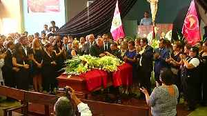 Wake for ex-president Garcia raises old political scores in Peru [Video]