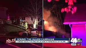 Red Cross launches 'Sound the Alarm' campaign in Kansas City to install working smoke alarms [Video]