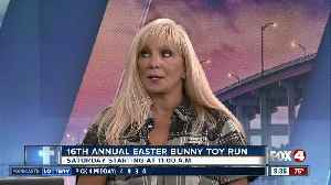 16th Annual Easter Bunny Toy Run [Video]