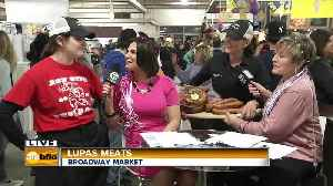 AM Buffalo LIve From the Broadway Market (Part 1 - Lupas Meats) [Video]