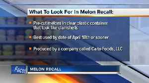 Pre-cut melon sold at Whole Foods, Kroger and other stores in 9 states recalled; 93 people sick [Video]