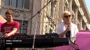 Actress Emma Thompson joins Oxford Circus climate protest [Video]
