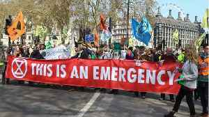 Climate Change Protesters In London Cause A Week Of Chaos [Video]